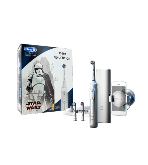 ORAL-B GENIUS Cepillo Eléctrico 8300 Star Wars Blanco