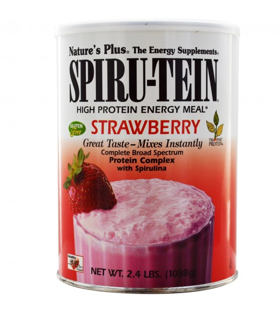 NATURE'S PLUS Spiru-Tein Fresa 476g