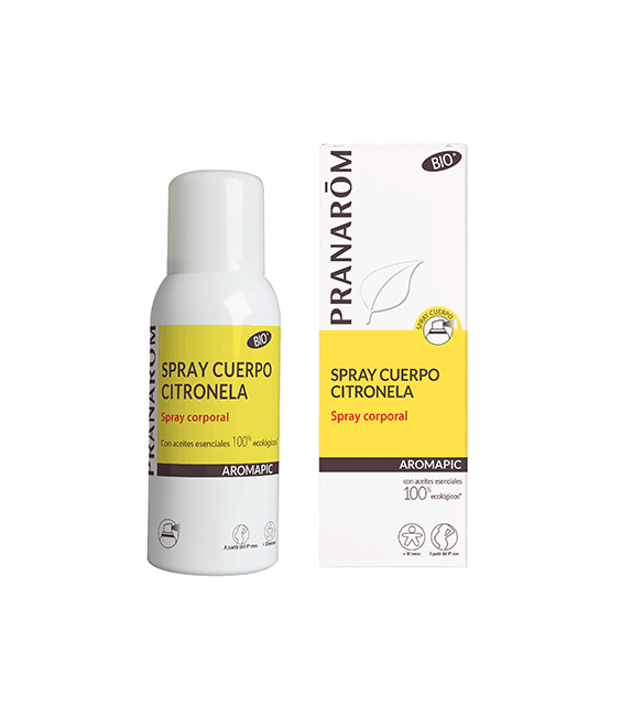 PRANAROM Aromapic Spray Cuerpo Citronela Antimosquitos 75ml
