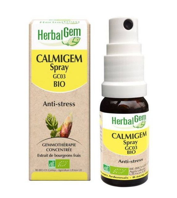 HERBALGEM Calmigem Spray Antiestrés Bio 10ml