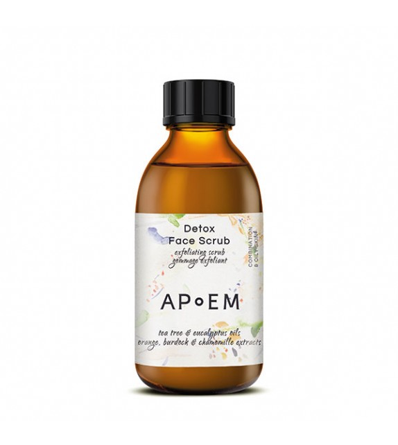 APoEM DETOX Face Scrub 150ml