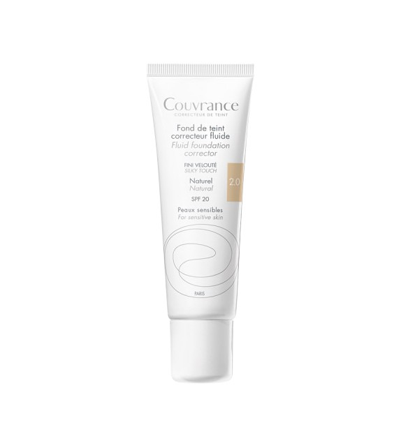 AVÈNE COUVRANCE Maquillaje Fluido Natural 2.0 30ml