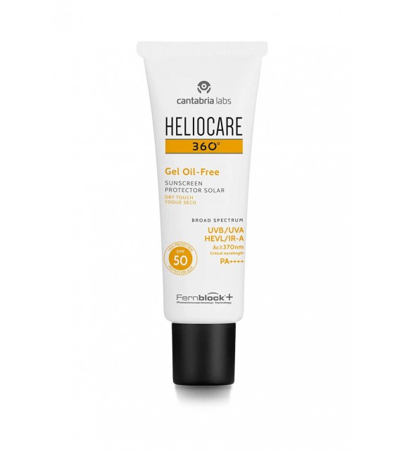 HELIOCARE 360º Gel Oil Free Dry Touch SPF50 50ml