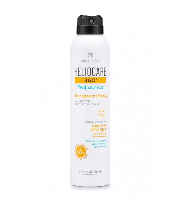 HELIOCARE 360º Pediatrics Transparent Spray SPF50 50ml